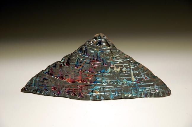 B. Macomber Raku Pyramid Form