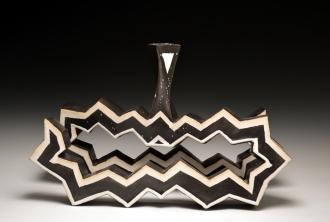 C. Hinshaw Zigzag Vessel $350