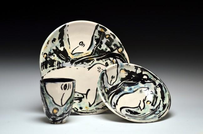 Baluga Whale Dinnerware Set